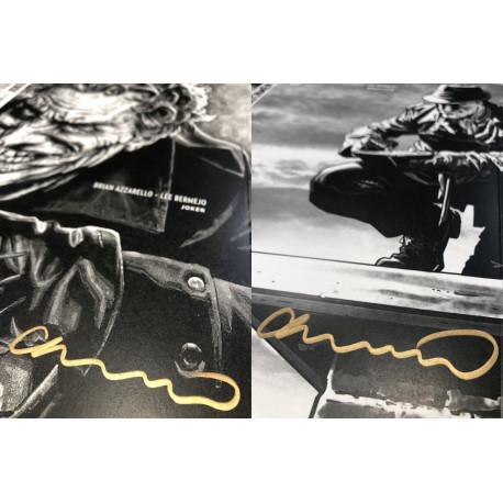 Lee Bermejo jaquettes Joker et Before watchmen rorschach édition limitée et dédicacé