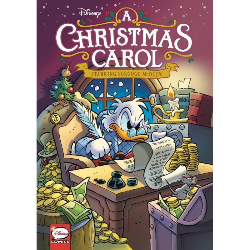 DISNEY CHRISTMAS CAROL STARRING SCROOGE
