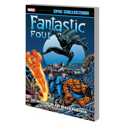 FANTASTIC FOUR EPIC COLLECTION TP MYSTERY OF BLACK PANTHER