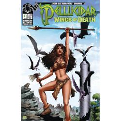 PELLUCIDAR WINGS OF DEATH 1 CVR B WOLFER WARRIOR